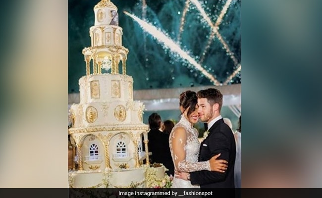 Priyanka Chopra And Nick Jonas Exquisite Wedding Cake Was A