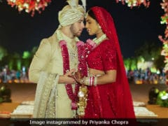 The Making Of Priyanka Chopras Red Bridal Couture For Her Wedding