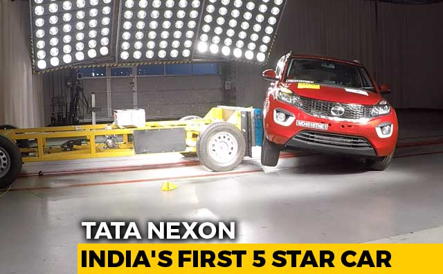 Video : Exclusive: Tata Nexon Makes History As India's First 5 Star Car