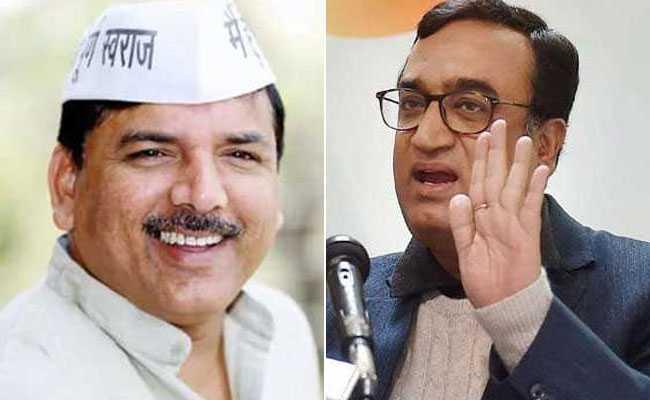 AAP नेता संजय सिंह का अजय माकन पर पलटवार: अगर यही हरकतें रहीं तो कांग्रेस की जमानतें जब्त होंगी