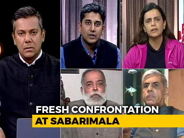 Video : Sabarimala Standoff Continues 3 Months After Top Court Verdict