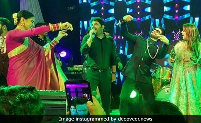 Best Dance Videos Of Deepika Padukone And Ranveer Singh From Kapil Sharma's Mumbai Reception