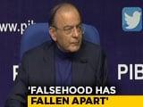 "Video : ""Falsehood Has Fallen Apart,"" Says Arun Jaitley On Big Rafale Verdict"