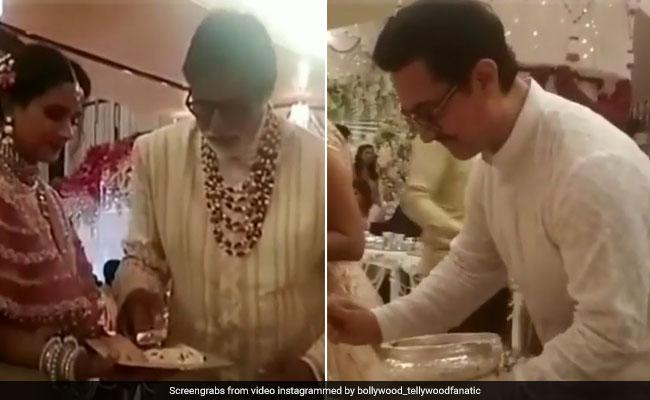 ईशा अंबानी की शादी में अमिताभ बच्चन, आमिर खान और ऐश्वर्या ने यूं मेहमानों को खिलाई दावत, VIDEO VIRAL