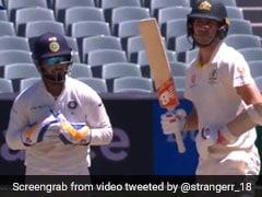 India vs Australia: Rishabh Pant Sledging Pat Cummins Is Making Twitter Go Crazy - Watch
