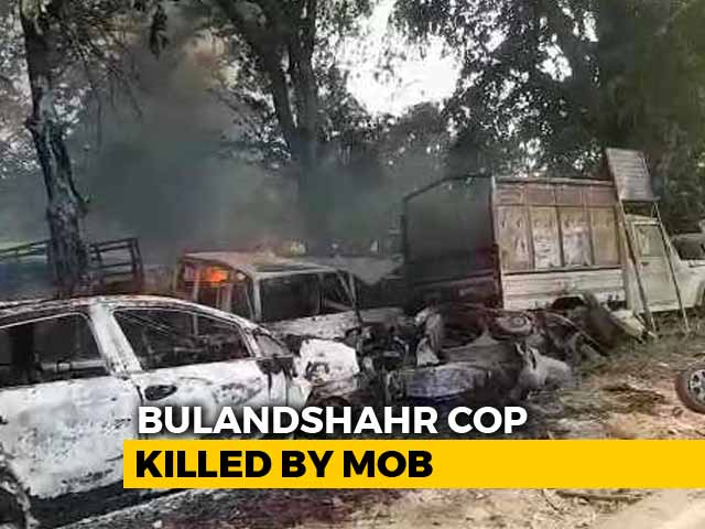 Video : Cop Killed In UP's Bulandshahr Investigated 2015 Dadri Mob Killing