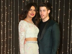 Priyanka Chopra And Nick Jonas Make A Fabulous Pair At Their Mumbai Reception, Again