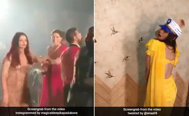 Celebrity Viral Videos 2018: ऐश्वर्या ने दीपिका को खींचकर कराया डांस, तो आलिया भी 'टिप-टिप बरसा पानी' पर जमकर नाचीं