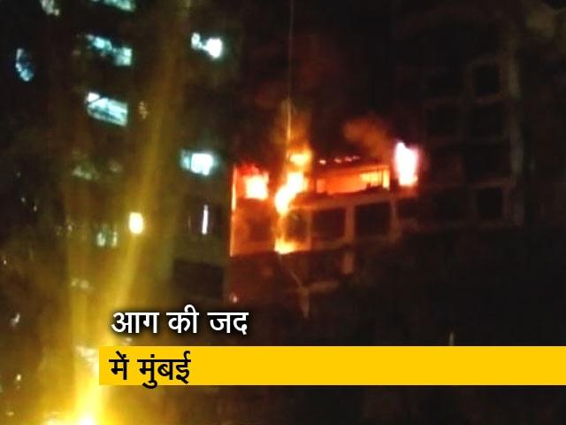 Videos : Top News @ 8AM:मुंबई में रिहायशी इमारत में लगी आग