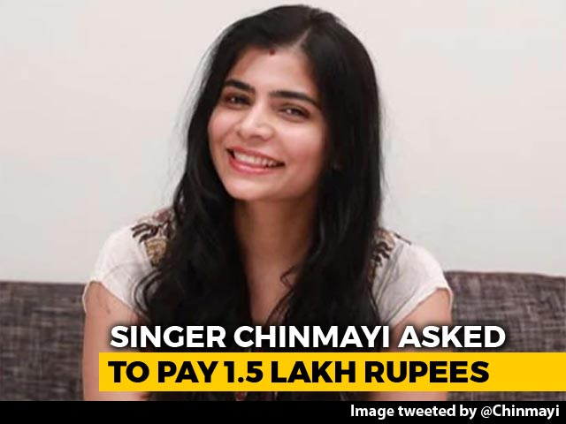"Video : Chinmayi Sripaada Asked To Pay ""Random Fee"" By Dubbing Union After #MeToo"