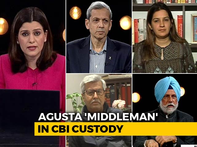 "Video : India Gets Agusta ""Middleman"": Advantage BJP In Poll Season?"