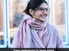 Sonam Kapoor Loves Winter For 'Cold Noses, Cozy Sweaters, Hot Chocolate And Cuddles.' Us Too