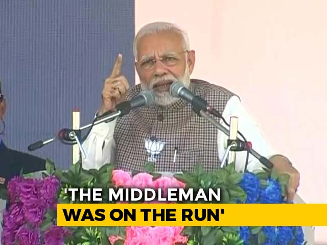 "Video : PM Targets Congress, Says Wait For Agusta ""Middleman"" To Spill Secrets"