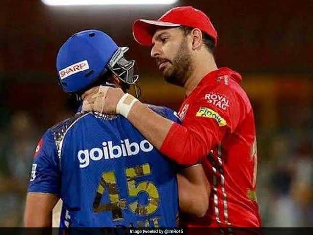 Yuvraj replied with a quirky yet threatening message to Rohit after his birthday wish
