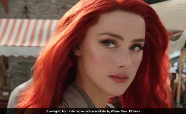 Aquaman Actress Amber Heard Says 'Dearth Of Representation Of Women's Strength In Films Is Frustrating'