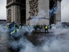 """Yellow Vest"" Protests Damage Paris Monuments And Macron's Presidency"
