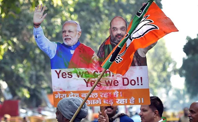 Delhi BJP Reaches Out To Dalit Voters Through Community Meals