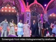 Isha Ambani Sangeet: ऐश्वर्या ने अभिषेक और शाहरुख ने अंबानी परिवार के साथ ऐसे किया डांस, देखें VIDEO