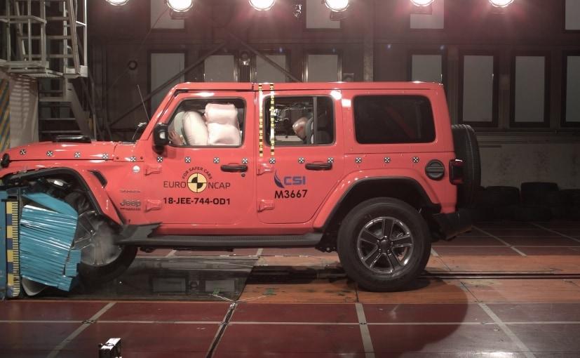 Jeep Wrangler Scores 1 Star In Euro NCAP Crash Test