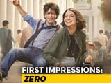 Video : First Impressions Of SRK's <i>Zero</i>
