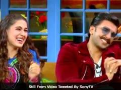 <i>The Kapil Sharma Show</i> Teaser: <i>Simmba</i> Stars Ranveer Singh And Sara Ali Khan Just Can't Stop Laughing