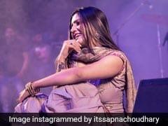 सपना चौधरी के डांस के आगे चित हुईं प्रियंका चोपड़ा, सोनम कपूर के पति को भी पछाड़ा- देखें Video