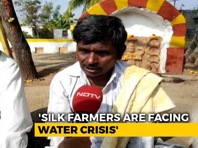Video : In Karnataka, Power Supply, Water Crisis Add To Farmers' Problems