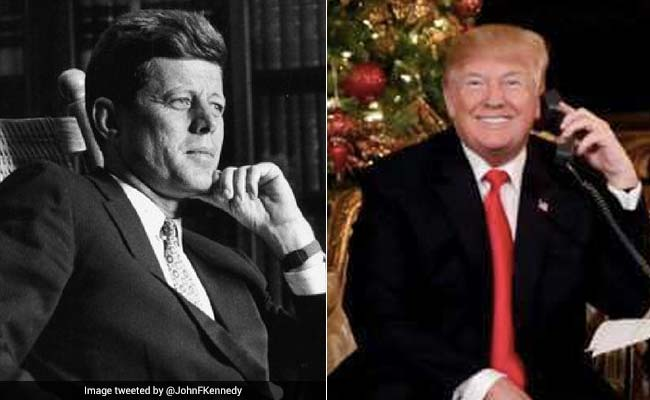 Twitter Compares Donald Trump's Response On Santa Claus Question To JFK's