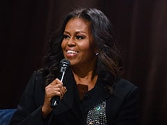 Michelle Obama Swore In Front Of Sold-Out Crowd, And The Internet Lost It