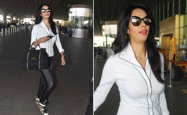 Get Yourself A Timeless White Shirt Like Mallika Sherawat's – 6 Options