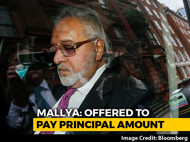"Video : Vijay Mallya Offers To ""Repay 100%"" To Banks, Says ""Please Take It"""