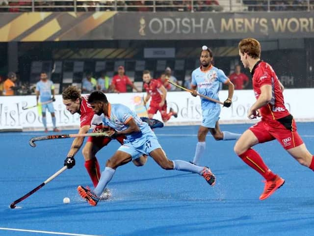 Hockey World Cup 2018: India Toil To A Draw vs Belgium In Nail-Biting Clash