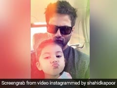 Shahid Kapoor And Daughter Misha Have A Strong Posing Game. Here's Proof