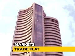Video: Sensex Edges Lower, Nifty Below 10,950