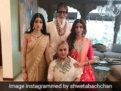 The Bachchans Are A Stylish Lot. Just Look At This Pic Of Navya Naveli Nanda, Shweta, Jaya And Amitabh Bachchan