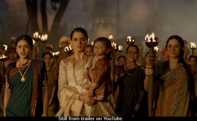 Manikarnika The Queen Of Jhansi Trailer Kangana Ranauts