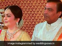Isha Ambani Wedding: शादी में इमोश्नल हुए मुकेश अंबानी, मेहमानों ने ऐसे देखी वरमाला, देखें VIDEO