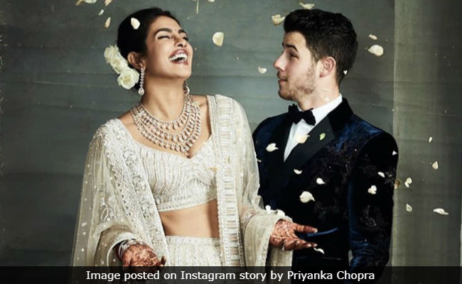 Nick Jonas Wiped Away a Tear As Priyanka Walked Down The Aisle