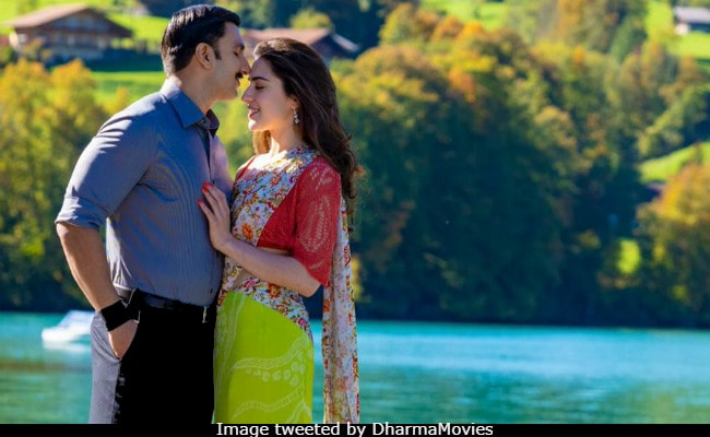 Simmba New Pics: With Ranveer Singh And Sara Ali Khan, Love Is In The Air