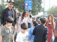 Inside Hrithik Roshan's Well-Spent Sunday With Sussanne, Hrehaan And Hridhaan. See Pics