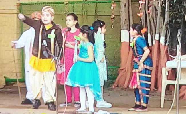 'सांझी' कार्यक्रम में स्कूली बच्चों ने दिखाई देश भर की साझा संस्कृति