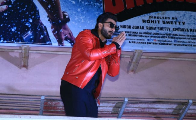 On Simmba Day, Ranveer Singh Visits Mumbai Theatres For Audience Reactions
