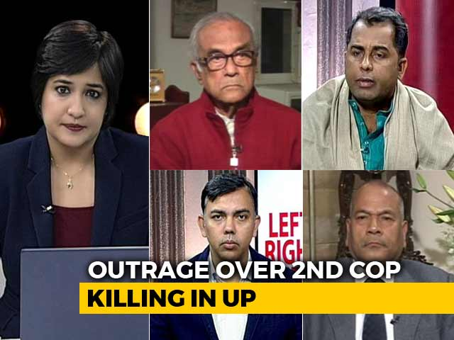 Video : Another UP Cop Killed In Mob Violence: Who's Responsible?