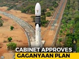 Video : 3 Indians To Be Sent To Space In Rs. 10,000 Crore Gaganyaan Plan