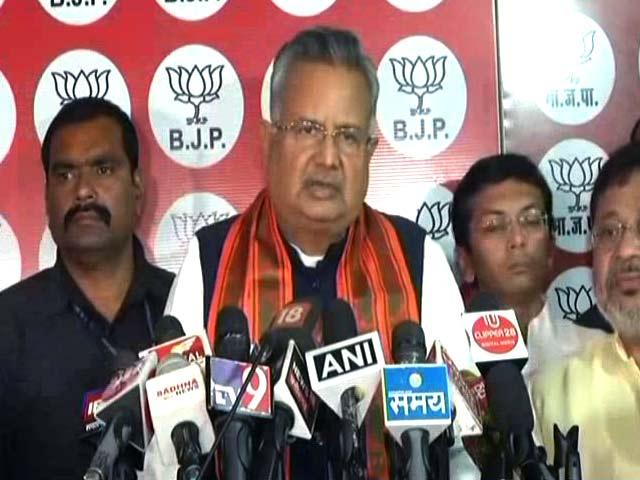 Video : Raman Singh Bows Out As Chhattisgarh Chief Minister
