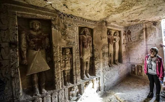 4,400-year-old tomb discovered in Egypt
