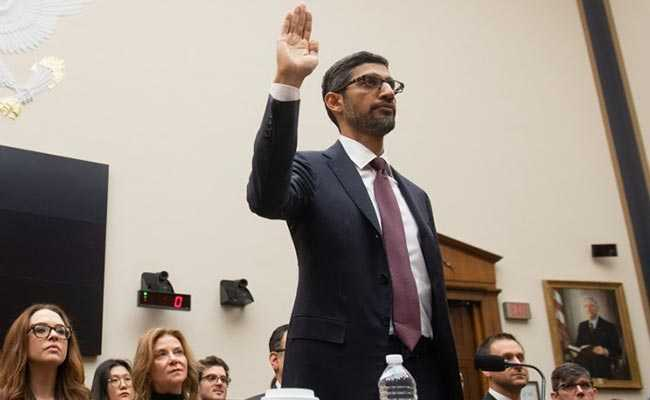 Sundar Pichai Denies Google Political Bias Claims At Senate Hearing