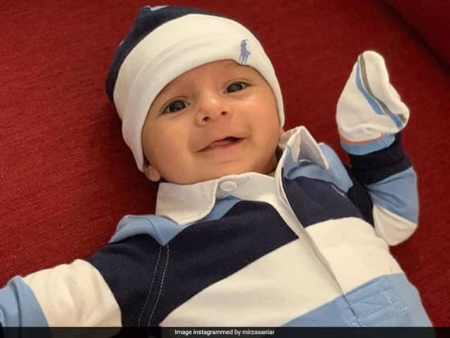 Sania Mirza Shares Son Izhaans Smiling Picture On Instagram