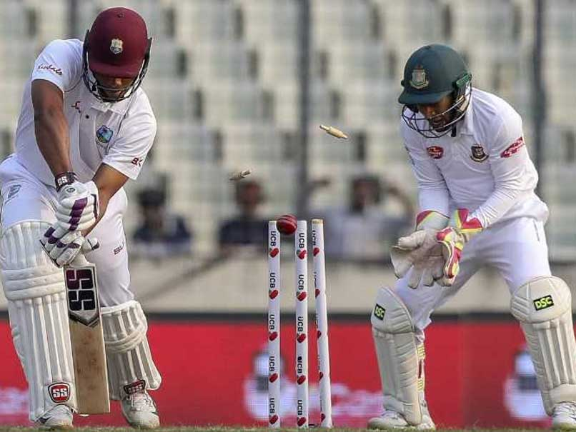 2nd Test: Windies Stumble In Spin Trial vs Bangladesh After Mahmudullah Ton