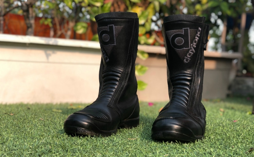 Daytona Toper Riding Boots Review - NDTV CarAndBike 7372e5754